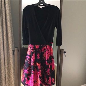 Diane Von Furstenberg Wrap Dress EUC